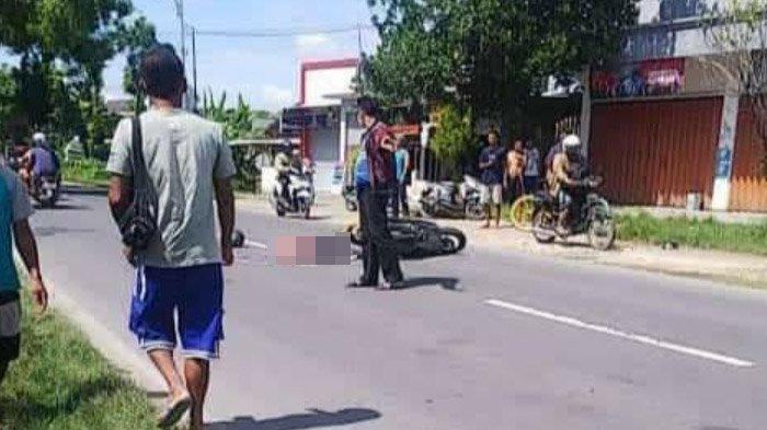 Gagal Nyalip, Pengendara Motor di Tuban Tabrak Ban Belakang Truk Trailer dan Tewas di Lokasi
