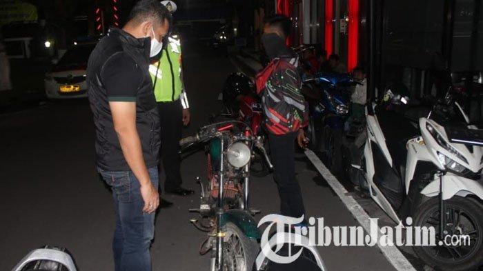 Gelar Razia Skala Besar, Polisi Blitar Sita Ratusan Miras dan Amankan 15 Motor untuk Balap Liar