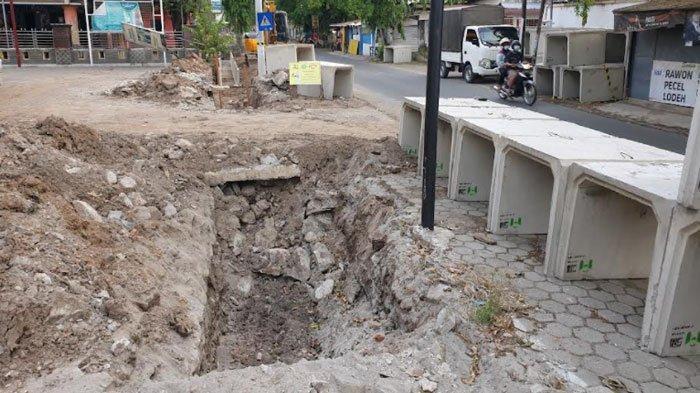 Proyek Drainase Rp 39 M untuk Pengendalian Banjir di Kota Mojokerto Dipastikan Rampung Akhir 2021
