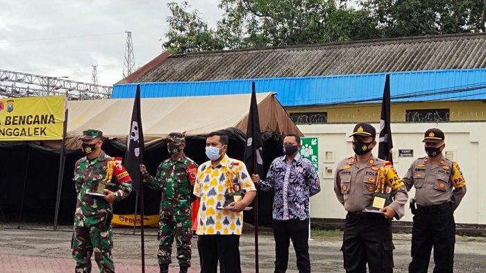 Penanganan Covid-19 Trenggalek, Kecamatan Terbaik Dapat Award, Terburuk Dapat Bendera Tengkorak