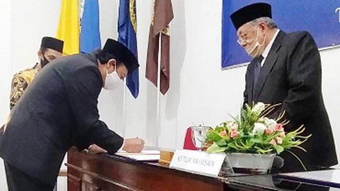 Prof Haris Resmi Jabat Rektor Unhasy Jombang, Tanggung Jawab Besar, Lanjutkan Perjuangan Gus Sholah