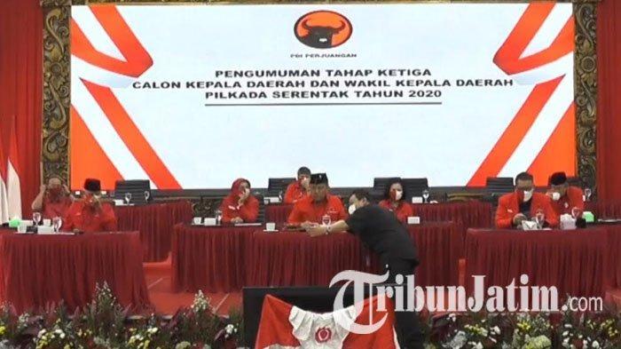 Rekomendasi PDI Perjuangan pada Pilkada Tuban 2020 Jatuh ke Setiajit-Armaya Mangkunegara