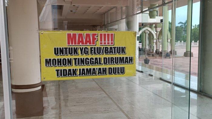 Takmir Masjid An Nur Pare Kediri Imbau Jamaah Taat Prokes Saat Salat Tarawih Ramadhan Berjamaah