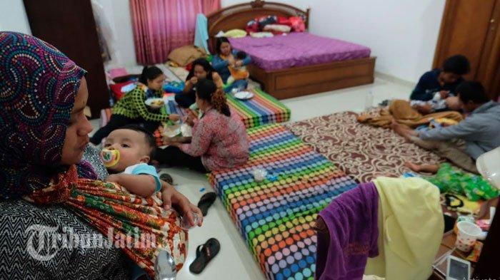 Dampak Angin Puting Beliung Terjang Batu, Ratusan Polisi Diterjunkan untuk Amankan Rumah Pengungsi