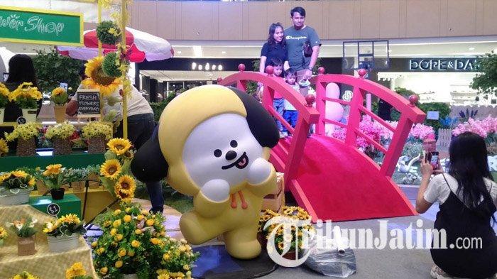 Ketemu Karakter Lucu Line Friends di Tunjungan Plaza Surabaya, Ada Beruang Brown Sampai Kelinci Cony
