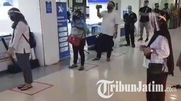 NEWS VIDEO: Aturan Baru Pengunjung & Pedagang di Plaza Marina Surabaya, Wajib Pakai Face Shield