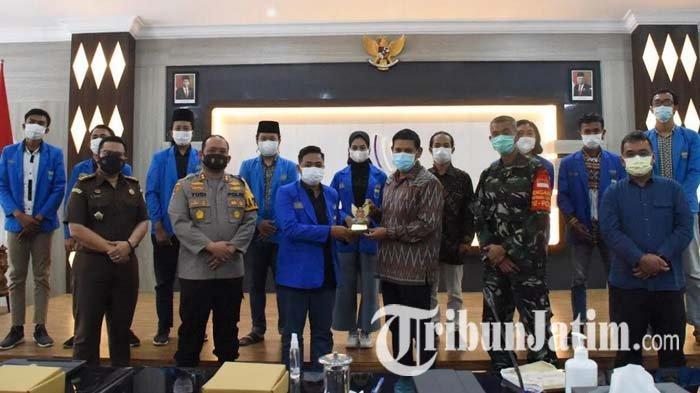 PMII Kediri Ajak Wali Kota Abdullah Abu Bakar Berkolaborasi Tangani Pandemi Covid-19
