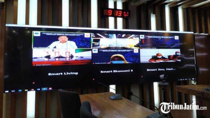 Tim Kemenkominfo Tinjau Lapang Pelaksanaan Smart City di Kota Kediri
