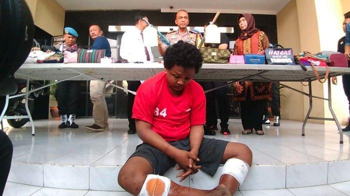 Kerap Menjambret di Kawasan Surabaya Barat, Pelaku Ini Akui Ada 73 Tas Milik Wanita
