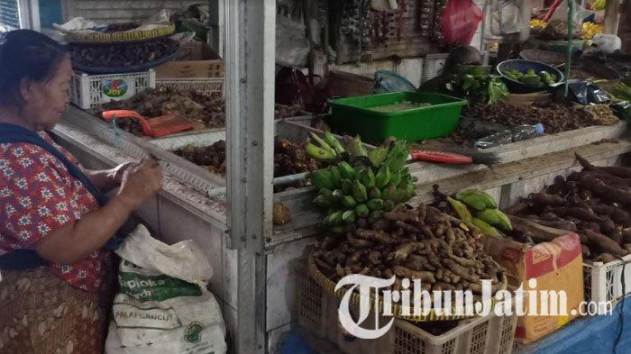 Virus Corona Merebak, Warga di Madiun Ramai-ramai Beli Rempah di Pasar Besar, Harga Jadi Melambung