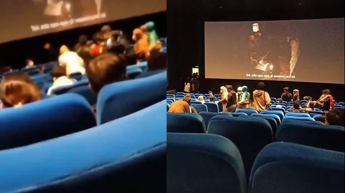 VIRAL Wanita Kesurupan saat Nonton The Conjuring 3, Imbasnya Film Terpaksa Diberhentikan Sementara