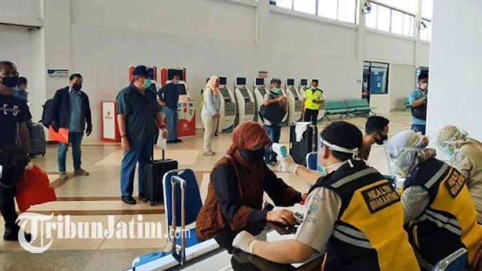 Penumpang Pesawat di Bandara Juanda Naik, Dishub Jatim: Tak Ada Kaitan dengan Antrean di Soetta