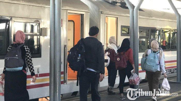 VIDEO: Jumlah Penumpang KA di Wilayah Daop 8 Surabaya hingga Oktober 2019 Tembus 9 Juta Orang