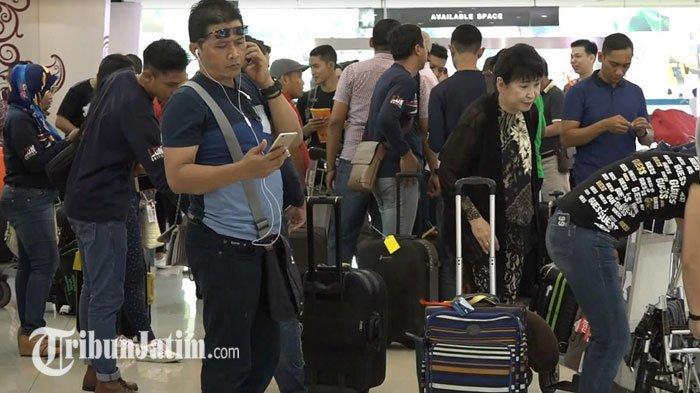 Penumpang di Bandara Juanda Hari ini Masih Padat, Angkasa Pura: Tapi Tak Sebanyak Sebelumnya