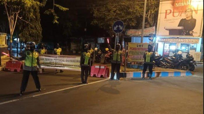 Area Taman Monumen Arek Lancor Pamekasan Terapkan Physical Distancing, Jalan Raya Tutup Pukul 20.00