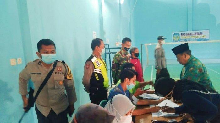 Penyaluran Bansos Tunai Dapat Pengamanan Intensif Cegah Pelanggaran Prokes Covid-19