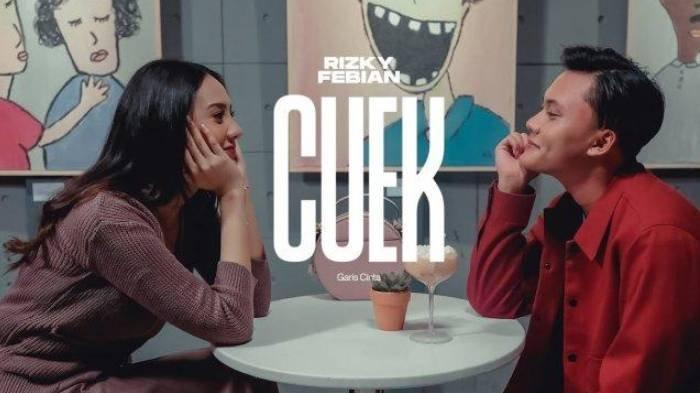 Chord Gitar dan Lirik Lagu 'Cuek' Rizky Febian, 'Mana Ada Aku Cuek', Kunci Mudah Dimainkan