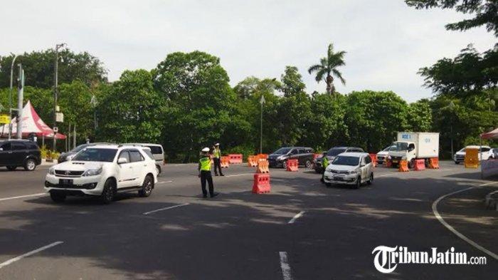 Penyekatan di Surabaya Diperpanjang, Antisipasi Membludaknya Mobilitas Kendaraan Pasca Lebaran