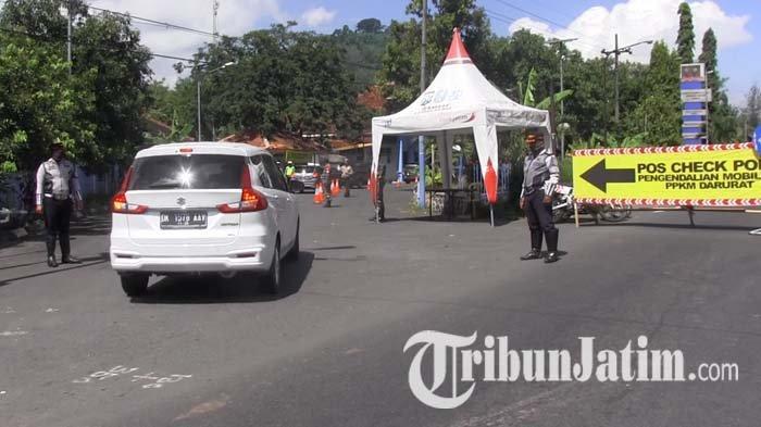 Cegah Pemudik di Hari Raya Idul Adha, Polisi Perketat Penyekatan Perbatasan Masuk Lumajang