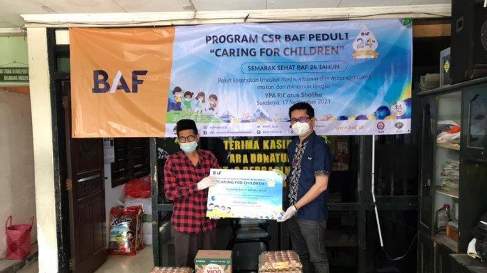 Usung 'Caring for Children', BAF Komitmen Bantu Ribuan Anak di 24 Kota di Indonesia