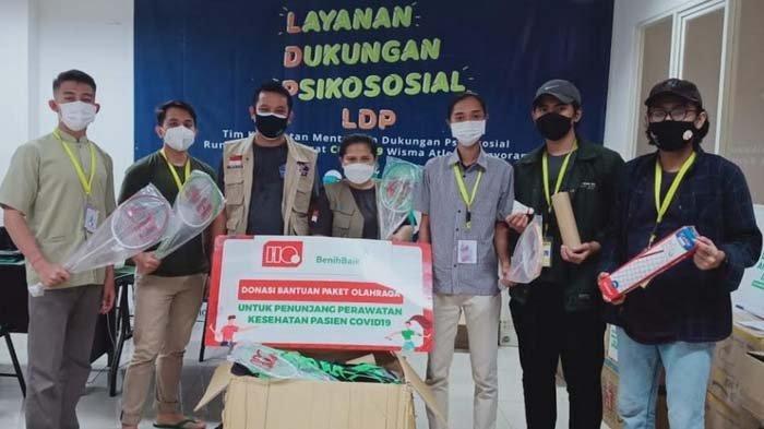 Hi-Qua Indonesia Sumbang Perlengkapan Olahraga untuk Pasien dan Relawan Covid-19 di Jakarta