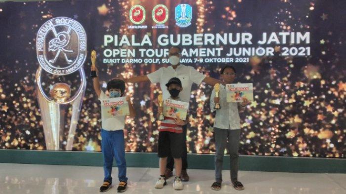 Pegolf Junior asal Bekasi Berhasil Rebut Piala Gubernur Jatim 2021