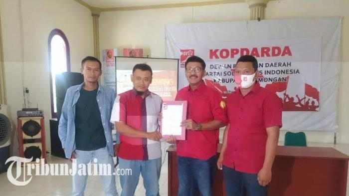 PSI Percayakan Rekomendasi Partai untuk Cabup Perorangan Suhandoyo-Su'udin di Pilkada Lamongan 2020