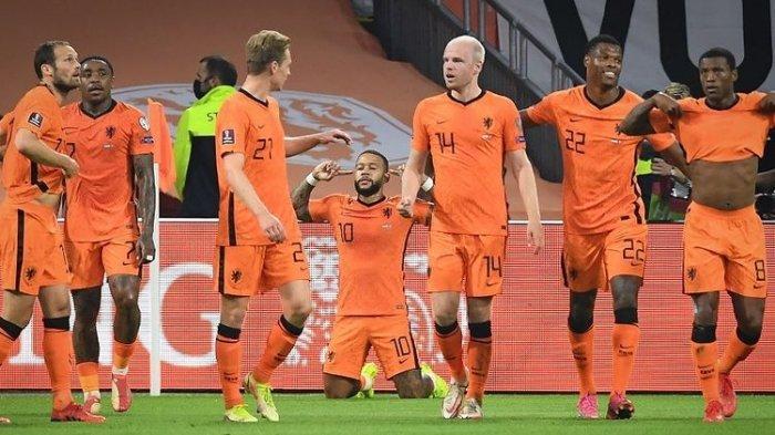 Rekap Hasil Kualifikasi Piala Dunia 2022 - Haaland dan Depay Menjelma Jadi Monster, Belanda Gemilang