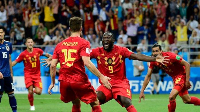 Hasil Piala Dunia 2018, Drama 5 Gol, Timnas Jepang Tersisih Usai Sempat Bahagia Lawan Belgia