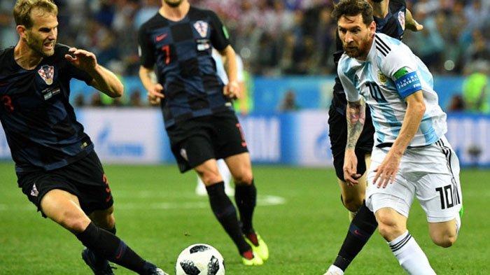Argentina Vs Kroasia, Tumbangkan Argentina 0-3, Kroasia Memastikan Diri Lolos ke Fase Gugur