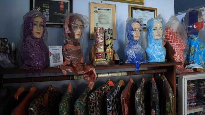 Kreativitas Jadi Kunci Sukses Kerajinan Batik di Kota Kediri Bertahan di Tengah Pandemi Covid-19