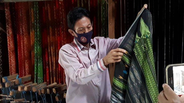Indahnya Sarung asal Cerme Gresik yang Diakui Dunia, Tembus Pasar Asia