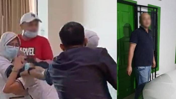 VIRAL Pria Aniaya Perawat RS Siloam Palembang, Emosi Tangan Anaknya Berdarah, Korban Trauma Berat