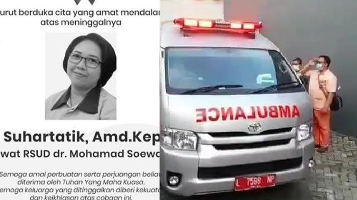 BREAKING NEWS: Perawat RSUD Soewandhie Meninggal, Terkonfirmasi Covid-19, Banjir Tangis dan Hormat
