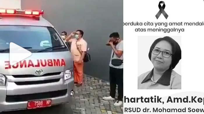 Sosok Suhartatik, Perawat RSUD Soewandhie Meninggal Terkonfirmasi Covid-19, Belasan Tahun Mengabdi