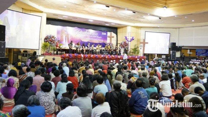 Jadwal Misa Minggu Palma 4 & 5 April 2020 di Gereja Katolik Keuskupan Jatim, Streaming di Sini