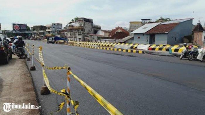 Perbaikan Jalan Ambles Kawasan Jompo Hampir Rampung , Dewan: Informasinya 8 Mei Bisa Dilewati