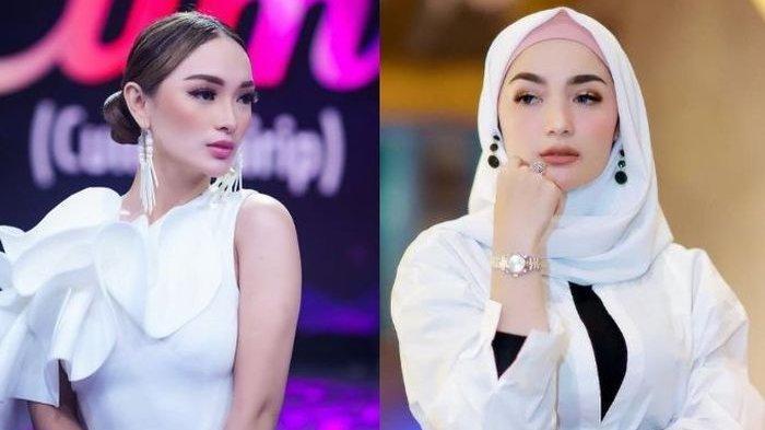 Perbandingan penampilan Zaskia Gotik dan Imel Cahyati