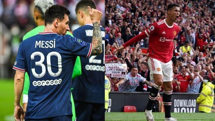 Perbedaan Debut Ronaldo & Messi Bagaikan Langit dan Bumi, CR7 Gacor di MU, La Pulga Melempem di PSG