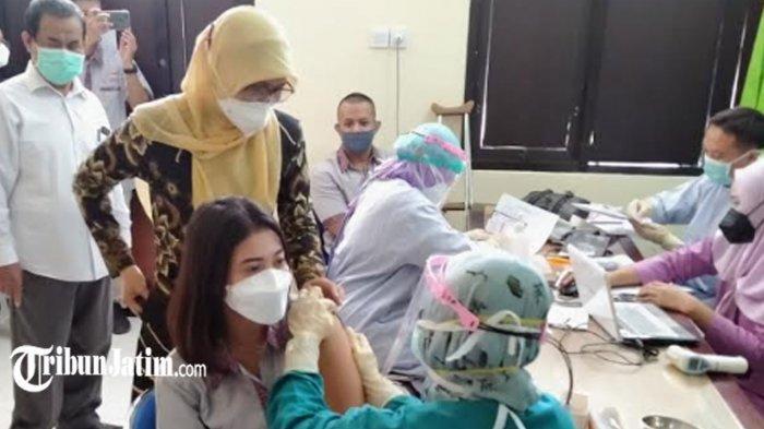 Target 6.000 Vaksin Covid-19 Setiap Hari, Dinas Kesehatan Kota Kediri Gandeng Relawan