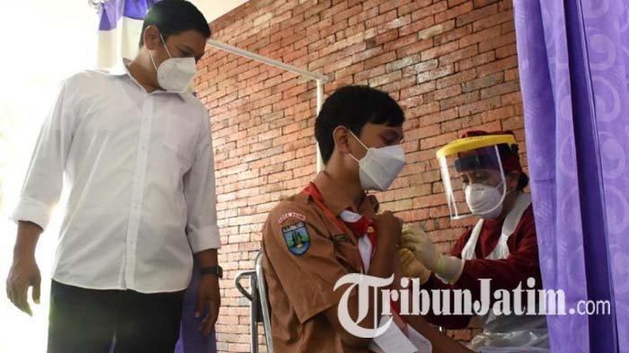 PPKM Level 4 Resmi Diperpanjang, Kota Kediri Akan Genjot Vaksinasi Covid-19