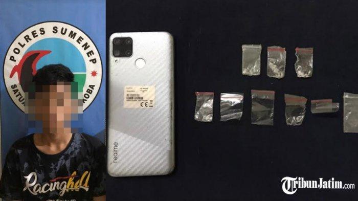 Remaja Umur 18 di Sumenep Terlibat Peredaran Narkoba, Kamar Tetangganya Jadi Tempat Transaksi