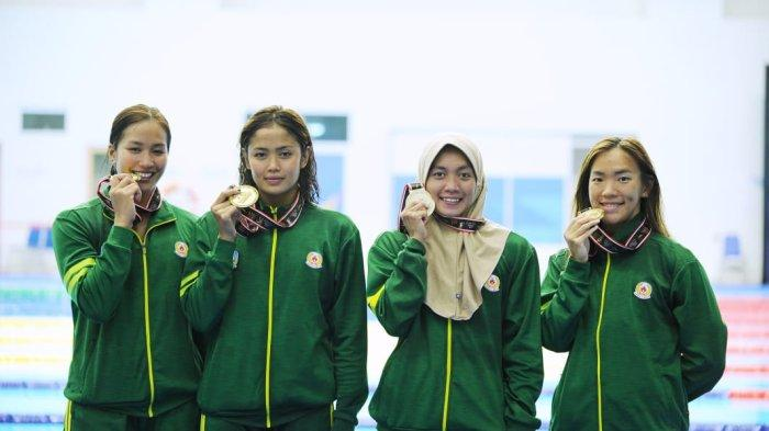 PON XX Papua 2021 - Tambah 3 Medali Emas, Renang Jatim Kembali Pecahkan Rekor