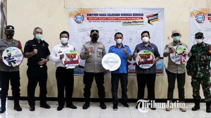 Kelurahan Ngronggo Dinobatkan Sebagai Kampung Tangguh Bersih Narkoba