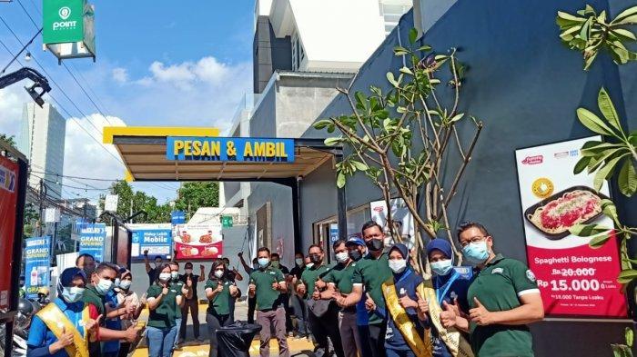 Indomaret Resmi Hadirkan Layanan Drive Thru Ketiganya di Surabaya