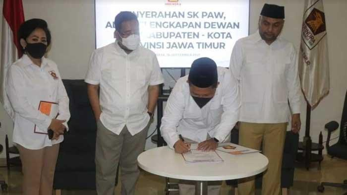 Perombakan Fraksi di Tubuh Partai Gerindra Tuban, Lutfi Firmansyah Gantikan Tri Astuti