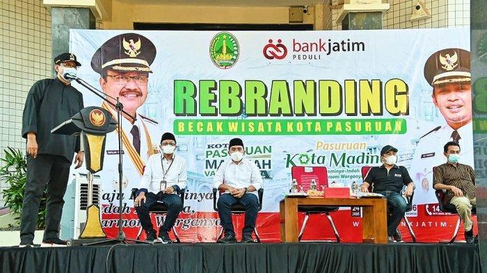 Gus Ipul Rebranding Becak Wisata untuk Kemajuan Pariwisata Kota Pasuruan