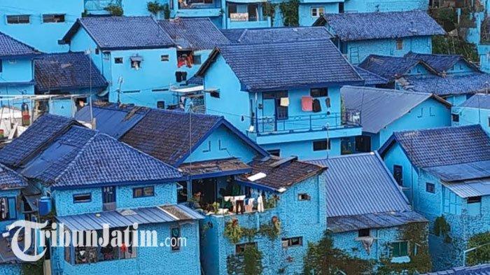 Harga Tiket Masuk Kampung Biru Arema, Wisata Tematik Populer di Malang, Aremania Wajib ke Sini!