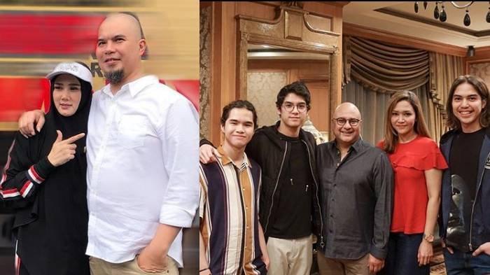 Perlakuan Beda Drastis Al, El, Dul ke Irwan Mussry & Mulan Jameela, Istri Ahmad Dhani Dipanggil Gini