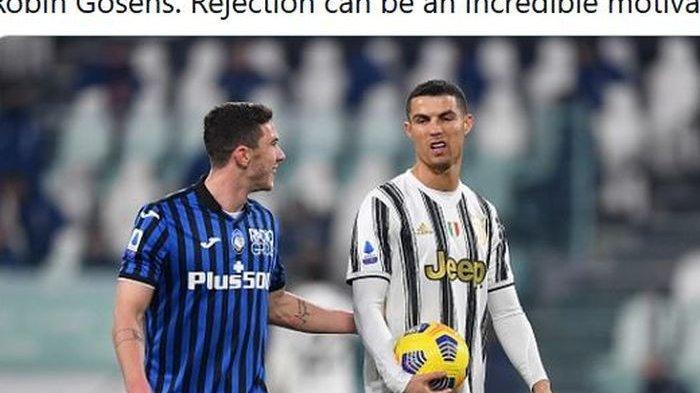 Pernah ditolak Cristiano Ronaldo saat meminta kaus, Robin Gosens kapok melakukannya lagi dan mengaku bangga bisa membobol Portugal.